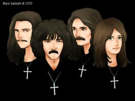 Long Live Black Sabbath by clerichan
