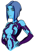 Cortana By Predaguy by ConstantM0tion