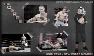 John Cena Joins the Corre by DecadeofSmackdownV3