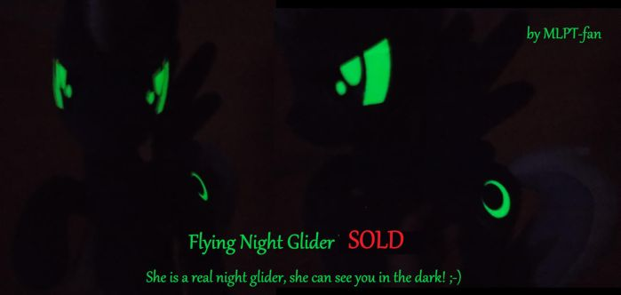 NIGHT GLIDER glowing in the dark eyes/cms by calusariAC