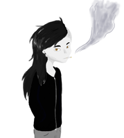 VERY FAST drawing of skrillex by PhthaIo