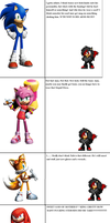 My First Thoughts on Sonic Boom Redesigns by KirliaTheEmotionWolf