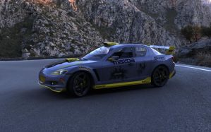 Mazda RX8 Rpodmod render 1 by RJamp