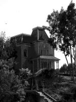 Psycho House Black and White by phahn1986