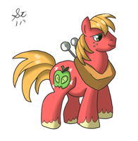 Big MacIntosh Colour by TenshiHoshino