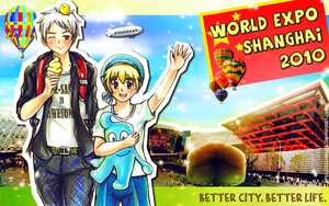 Prussia and Sealand- EXPO 2010 by Azureluck