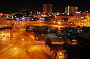 San Antonio Nightlight by SublimeBudd