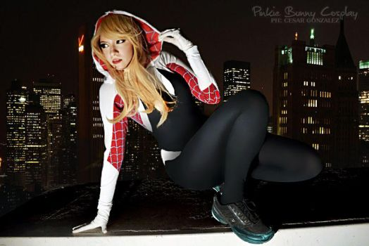 Spider-Gwen by Pinkie-Bunny-Cosplay