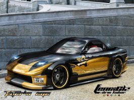 RX-7 TIGER'S EYE by FenixClz013