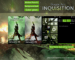 Dragon Age Theme WP8.1 by saracennegative