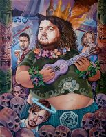 'Lost Tiki' by davidmacdowell