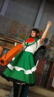 touhou project: okuu en Anime deluxe 2013 by sumomin