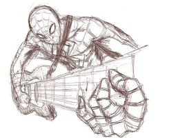 Spiderman Rocks by silverfox17x