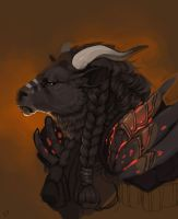 Tauren WIP by Obsin
