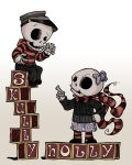 Skully And Holly by MrDinks