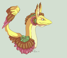 Spots and Feathers by SuperSymmetricCake