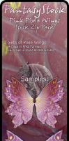 Pink Pixie Wings Zip Pack 2 by FantasyStock