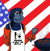 Barbecue BBQ GI JOE by Derrico13