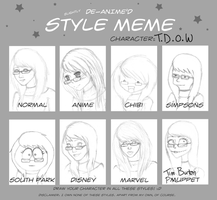 Different Styles Meme by A-McQ
