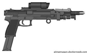 The UA showcase: Bullet storm Mach. pistol by OUTMACED121