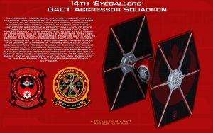 14th 'EYEBALLERS' DACT Aggressor Sqn Tech Readout by unusualsuspex