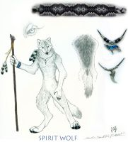 + Spirit Wolf's Ref Sheet + by SpiritWolfen