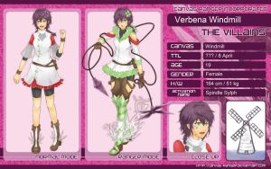 CR: Character Sheet: Verbe by Lurxneat