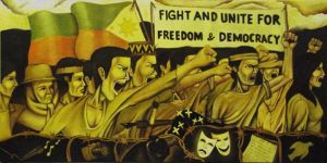 Fight and Unite For Freedom and Democracy by darkwave83