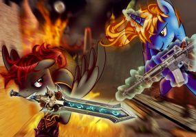 Chevaliers Duel by kyle23emma