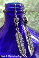 Indios Muerto Earrings by IdolRebel