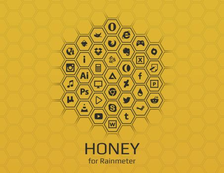 Honey [Rainmeter] by Ivaran