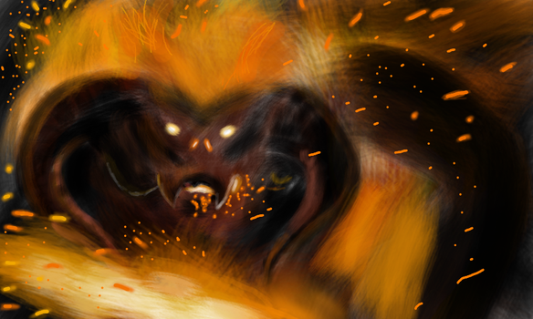 A Balrog of Morgoth by theArt14brother