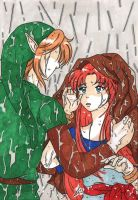 TLOZ - You'll catch a cold... by KeikoWolfgirl