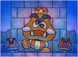 Paper Mario 64: The Goomba King by Cavea