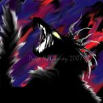 Heartless Chara-Wolf Form by FinalChara