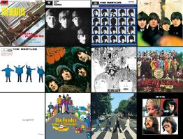 The Beatles Albums by BeatlesMania6