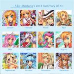 Art Summary 2014 by Aiko-Mustang
