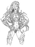 Witchblade by dtron