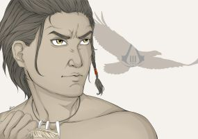 Connor Kenway by AleKaiLin