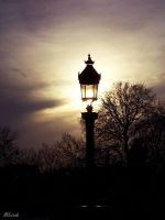 street lamp by 3divine