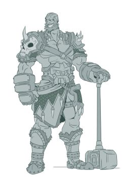 Critical Role Designs s03 Grog by Takayuuki