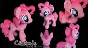 Pinkie Pie custom plush by Chibi-pets