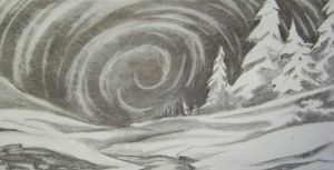 Land of Snow scetch by Marshwiggle777