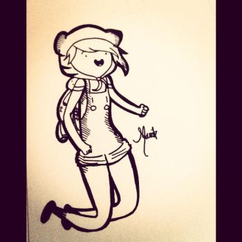 Adventure time version of me part 2 by AGraphicGeek
