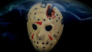 Friday the 13th Part 4 Hockey mask. by voodoodaddy1975