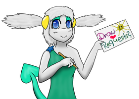 Draw Requests? :3 by Sallidii