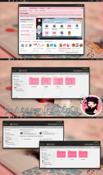 Yosemite Pink Theme Iconpackager by k1000adesign