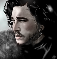 Jon Snow by Ockedy