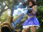 Caitlyn, the Sheriff of Piltover I by ChoCoBa