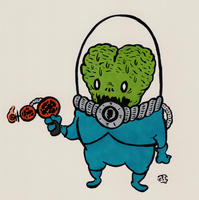 Mars Attacks by sketchxj